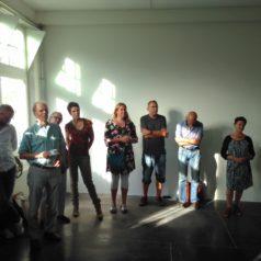 Enkele deelnemers aan het koepel overleg juni 2017